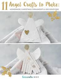 11 angel crafts to make homemade christmas ornaments