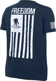Flag T Shirt Under Armour Boys U0027 Wounded Warrior Project Freedom Flag T Shirt