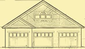 three car garage plans with a workshop and a loft