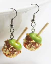 halloween jewelry caramel apple cider lil luna halloween candy corn chocolate