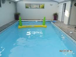 Inside Swimming Pool by Saumur Rentals For Your Vacations With Iha Direct