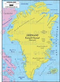Greenland On World Map by Geoatlas Continental Maps Greenland Map City Illustrator