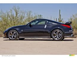 nissan nismo 2007 magnetic black pearl 2007 nissan 350z nismo coupe exterior photo