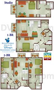 good villas at wilderness lodge floor plan part 9 it shows the