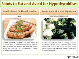 foods to eat and avoid for hypothyroidism sehat