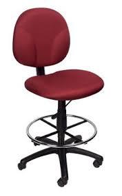 Ergonomic Drafting Table Black Fabric Multi Functional Ergonomic Drafting Stool Adjustable