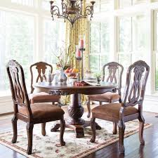 north shore round dining room set millennium furniture cart