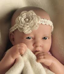 baby crochet headbands free crochet pattern for newborn headband squareone for