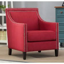 Overstock Armchair Best 25 Red Accent Chair Ideas On Pinterest White Armchair