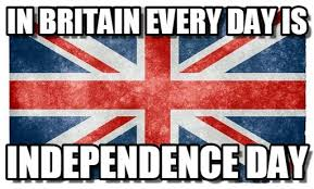 British Memes - in britain every day is british flag meme on memegen
