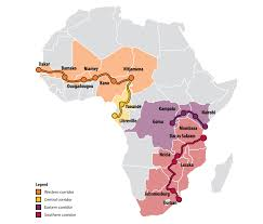 Map Of Sub Saharan Africa Improving Food Security In Zambia Worldfish Projects