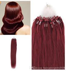 micro ring extensions hot hair 0 8g s 200s14 24 micro rings loop remy