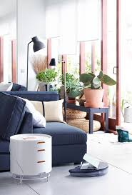 light floors and dark furniture create islands of comfort ikea