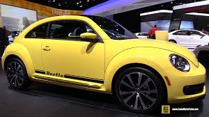 volkswagen yellow car vehicle retro 2015 volkswagen beetle exterior and interior walkaround 2015