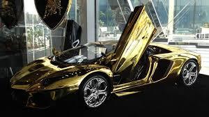 gold lamborghini aventador gold lamborghini yours for 7 5 million