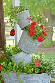 100 flowers in galvanized buckets galvanized tub fountain