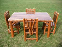 log dining room table chair pine dining tables and chairs images paneling decorating log
