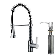 pull out spray kitchen faucet faucet com vg02001chk2 in chrome by vigo