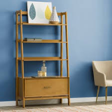 How To Make A Corner Bookshelf Modern Bookcases Allmodern