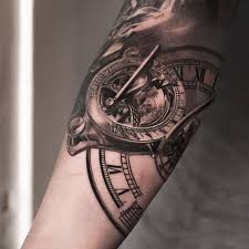 the 25 best sundial tattoo ideas on pinterest clockwork tattoo