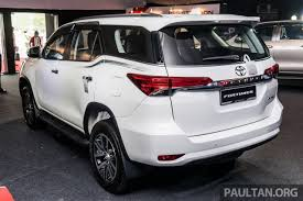 32 stocks at toyota fortuner group
