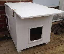 feral cat house plans beauty home design