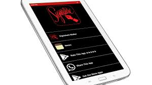 stylish name signature maker android apps on google play