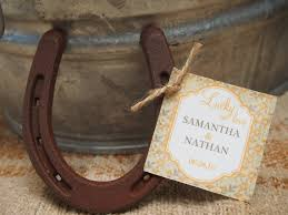 horseshoe wedding favors outstanding horseshoe wedding favors items similar to 24 lucky