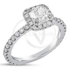 Harry Winston Wedding Rings by Cushion Cut Harry Winston Style Diamond Engagement Ring With