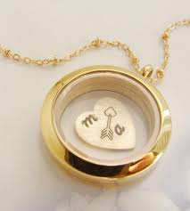 custom necklaces custom floating initial heart arrow necklace initials arrow