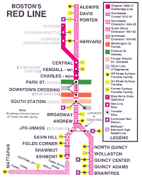 Mbta Red Line Map by Bostons T Map The Bar Stop Version Mbta Map Redesigns