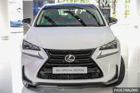 lexus rx blacked out lexus nx 200t range updated for my2017 u2013 special edition with