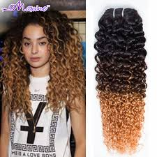ombre hair extensions aliexpress buy ombre curly hair 4 bundles ombre hair