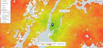 commute map trulia commute map