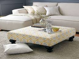 Ottoman Coffee Table Catchy Ideas For Fabric Ottoman Coffee Table Design Living Room