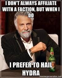 Hail Hydra Meme - hail hydra meme game reformer