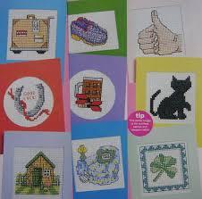fathers day bon voyage luck cards cross stitch charts patterns