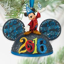 ears hat ornament 2016 sorcerer mickey mouse light up