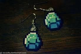 minecraft earrings minecraft earrings