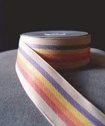 rustic ribbon rainbow ribbon rustic cloth 1 5 x 10 yards 337 06 5 99