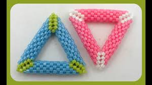 3d peyote triangle another excellent video tutorial by kelly