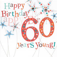 60 years birthday card finished 60th birthday card product images birthdays