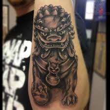 fu dog tattoo meaning foo dog tattoo meaning hongkong ji tattoo