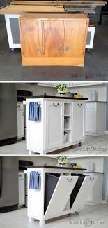how to turn a base cabinet into a kitchen island 23 best diy kitchen island ideas and designs for 2021