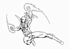 Iron Fist Coloring Pages Free Coloring Pages And Coloring Books Coloring Page Iron