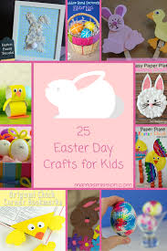 25 fun and easy easter day crafts for kids