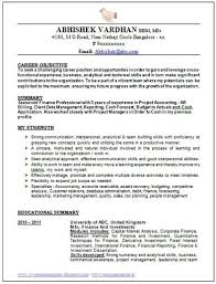 resume format for experienced accountant free download over 10000 cv and resume samples with free down
