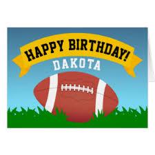 football happy birthday cards photocards invitations u0026 more