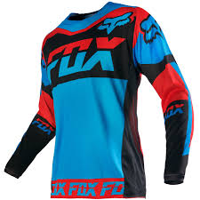 fox motocross jerseys fox racing 2016 180 mako fhe blue red jersey mxstore picks