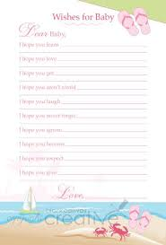 wishes for baby template 28 images 6 best images of printable